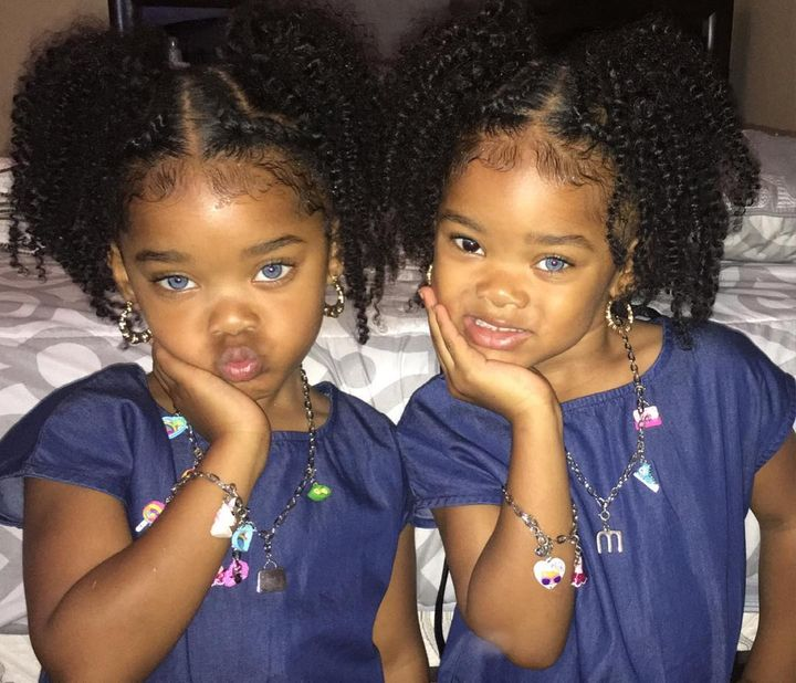 The Trueblue Twins Instagram Sensations With Gorgeous Eyes