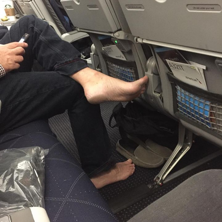 Putting Your Feet Up