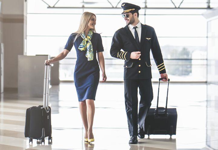The Glamorous Life of Flight Attendants