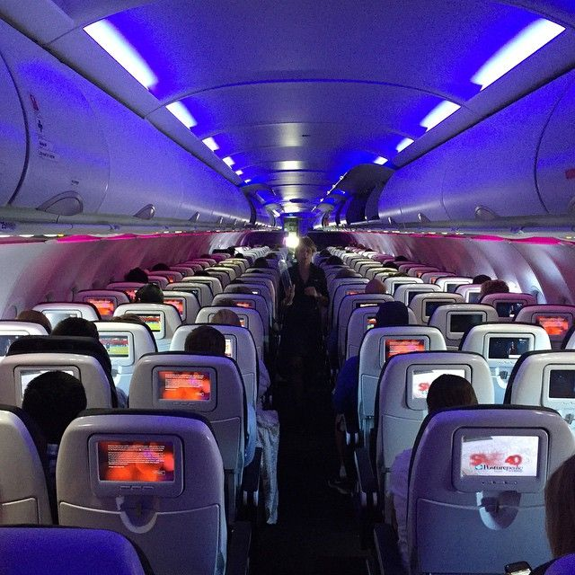 Why They Really Dim the Lights Before Landing